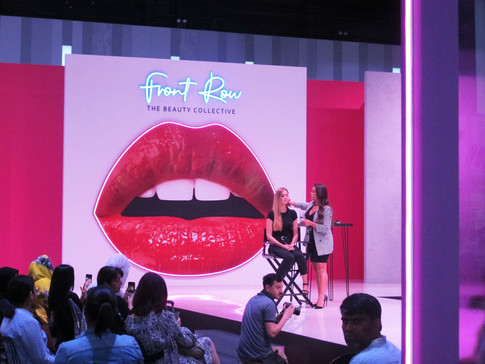 Front Row at Beautyworld ME