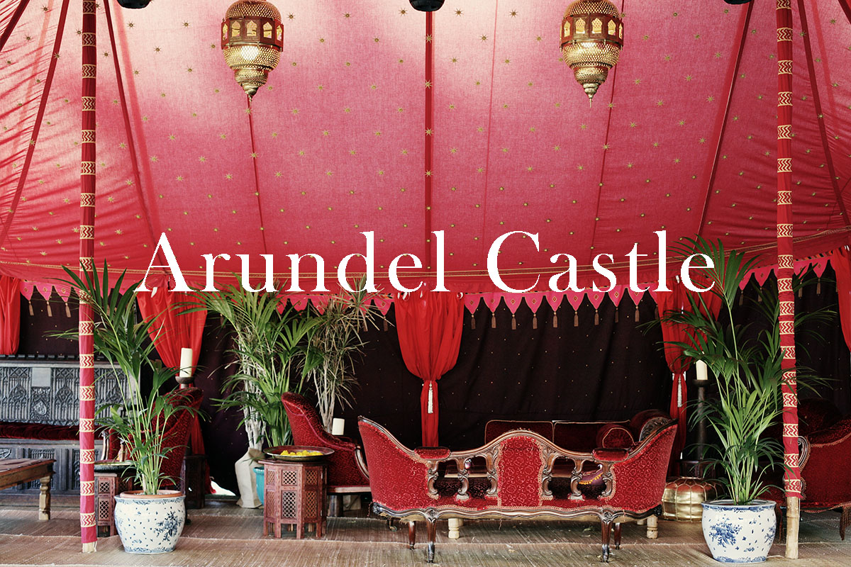 A private party at Arundel Castle