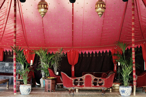 Indian tent structure