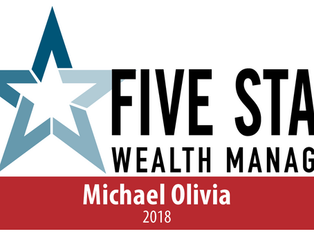 Five Star Wealth Manager Award Winner (2018)
