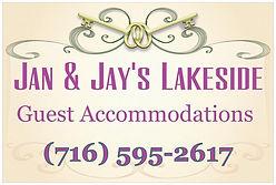 Jan & Jay's Lakeside Cottage