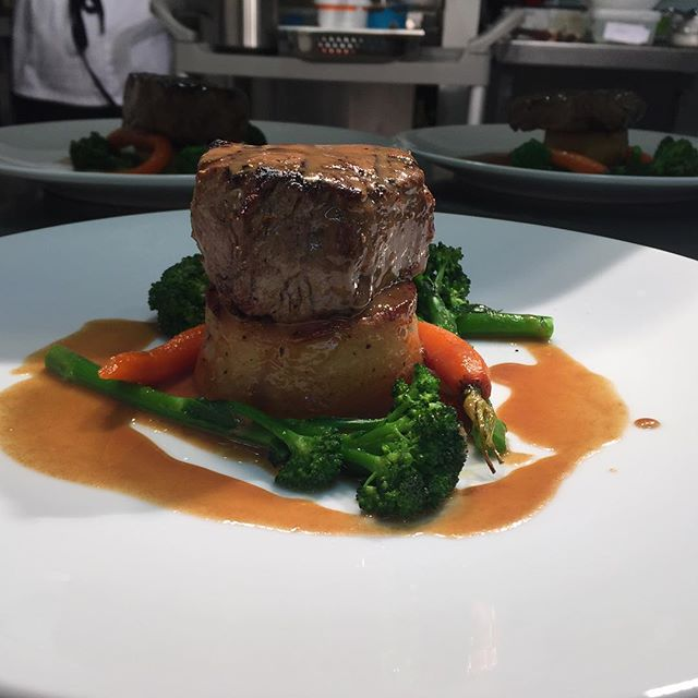 Fillet Steak and Fondant Potato