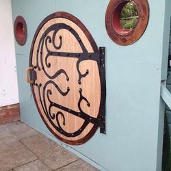 Hobbit Themed Wedding Door