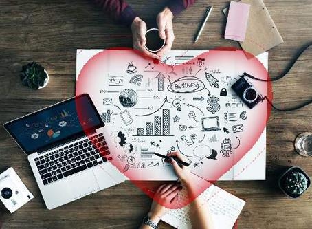 El amor y los negocios, dupla para el éxito