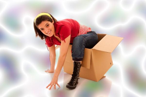 Pensar fuera de la caja, mujer
