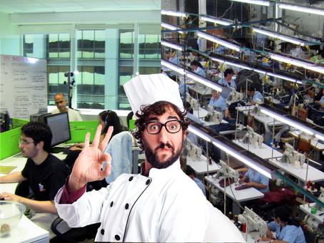 Diseño organizacional (con alma de cocinero)