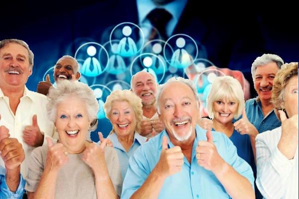 adultos mayores, empresa