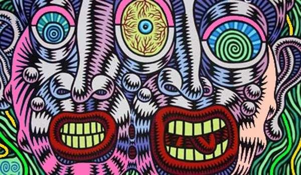locura, bocas, psicodélico, paranoia