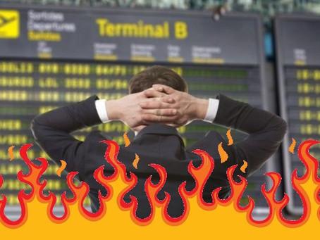 De viajes, esperas y arranques de ira