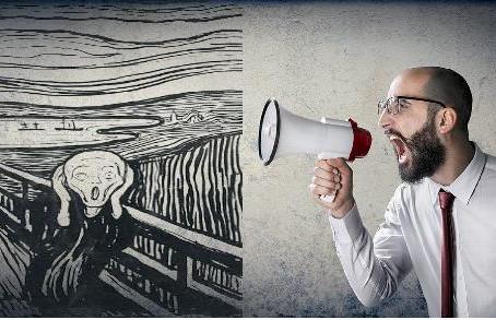 A veces un grito también es comunicación efectiva