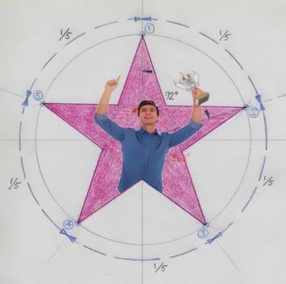 estrella, ganador, medición