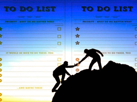 Cuando ayudar es más que cumplir con una lista…