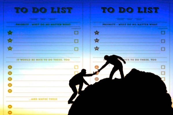 escalando, ayuda, TO-DO list