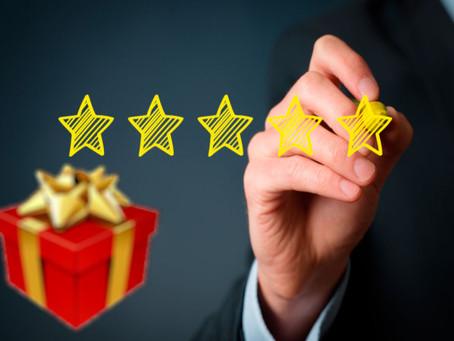 El regalo incluido en la evaluación de personal