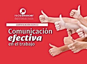 Certificación en línea: Comunicación efectiva en el trabajo