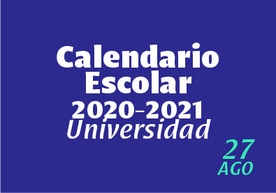 Calendario Universidad