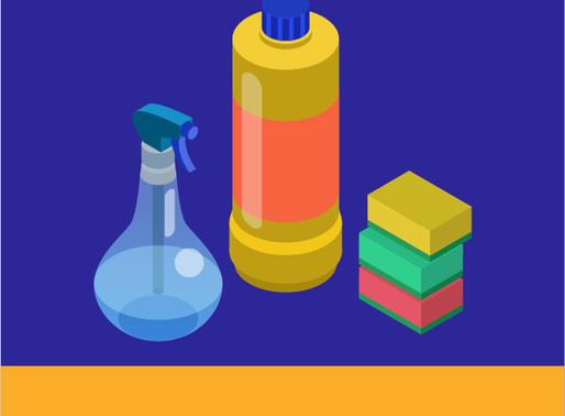 ¿Cómo desinfectar superficies?