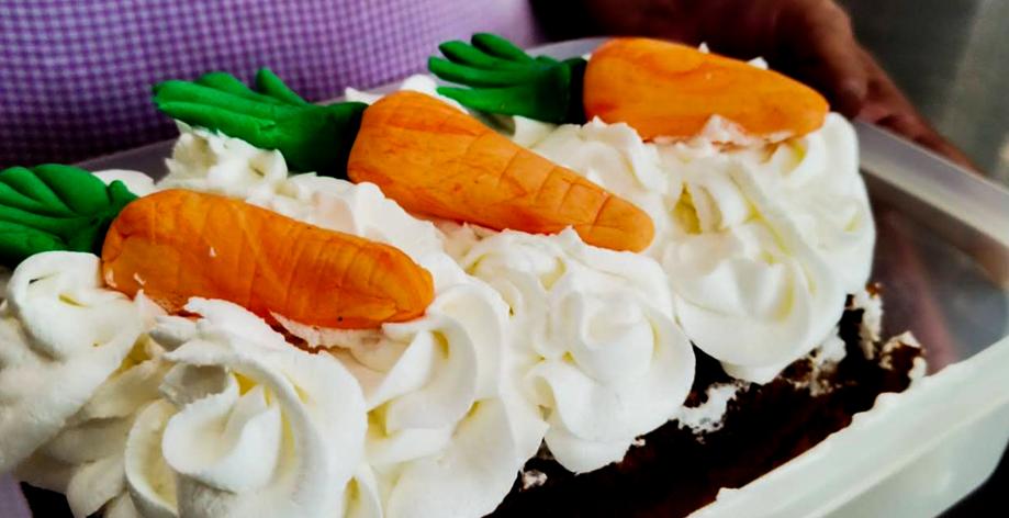 Panqué de Zanahoria bajo en Gluten