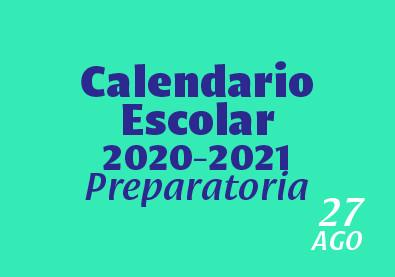 Calendario Preparatoria