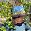 Thumbnail: Armchair Travel Knit Kit 5: North Country Flowers HAT ONLY KIT