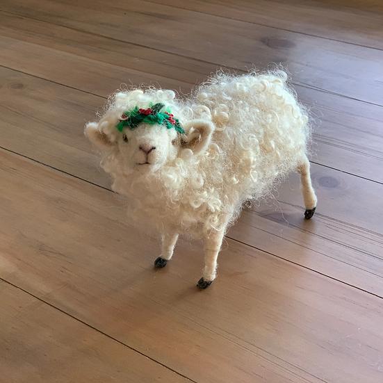Felicita, the Felted Sheep