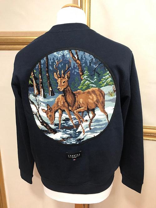 Sweatshirt à hublot