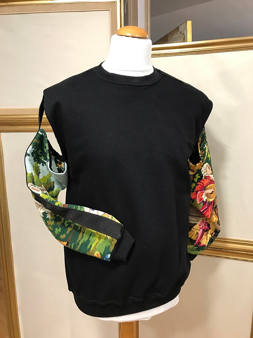 Sweatshirt manches ouvertes - prototype T.S