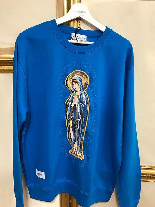 Sweatshirt saphir - vierge