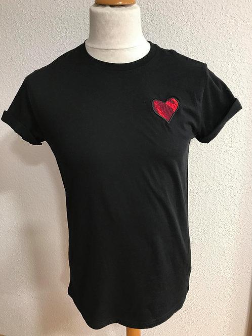 T-shirt Coeur CAN