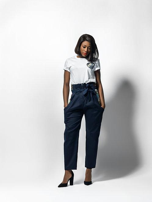 Pantalon CAN taille haute