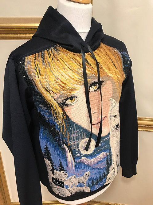 Sweatshirt a capuche - T. L