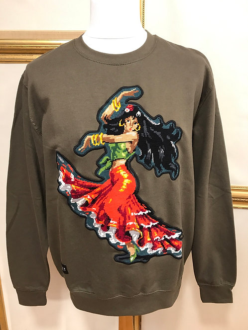 Sweatshirt flamenco