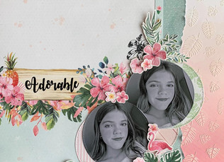 """Layout 12""""x12"""" - Adorable"""