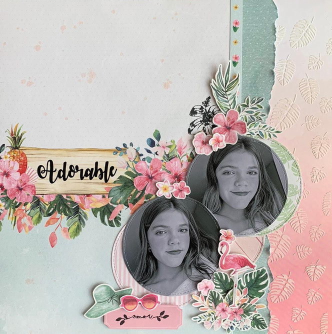 "Layout 12""x12"" - Adorable"