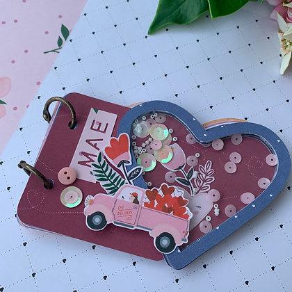 Mini álbum coração
