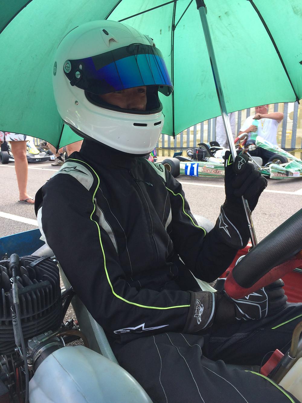 No grid girls in karting