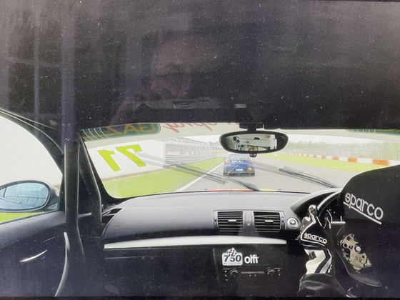 In car clips from Donington