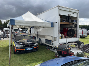 Cadwell Park - parked