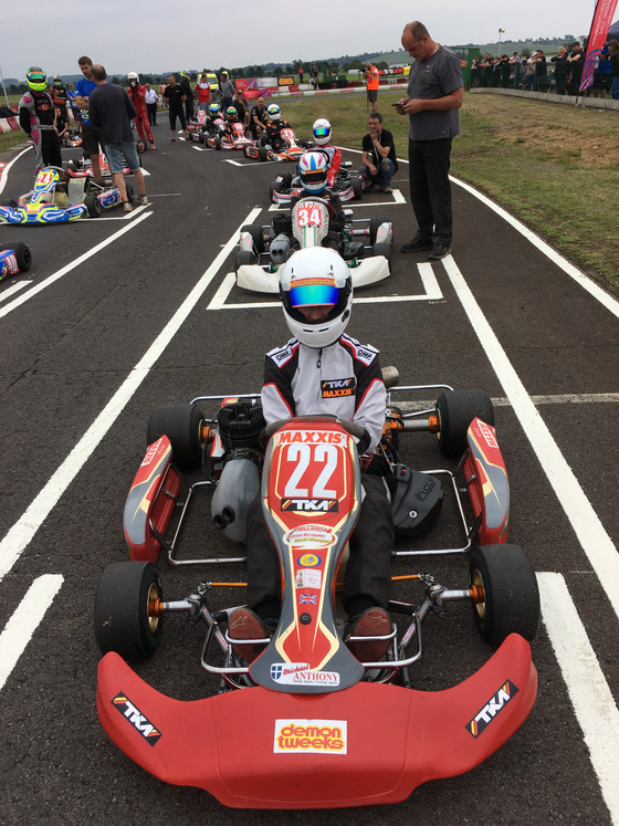 Rounds 5 & 6 British kart Championship Fulbeck