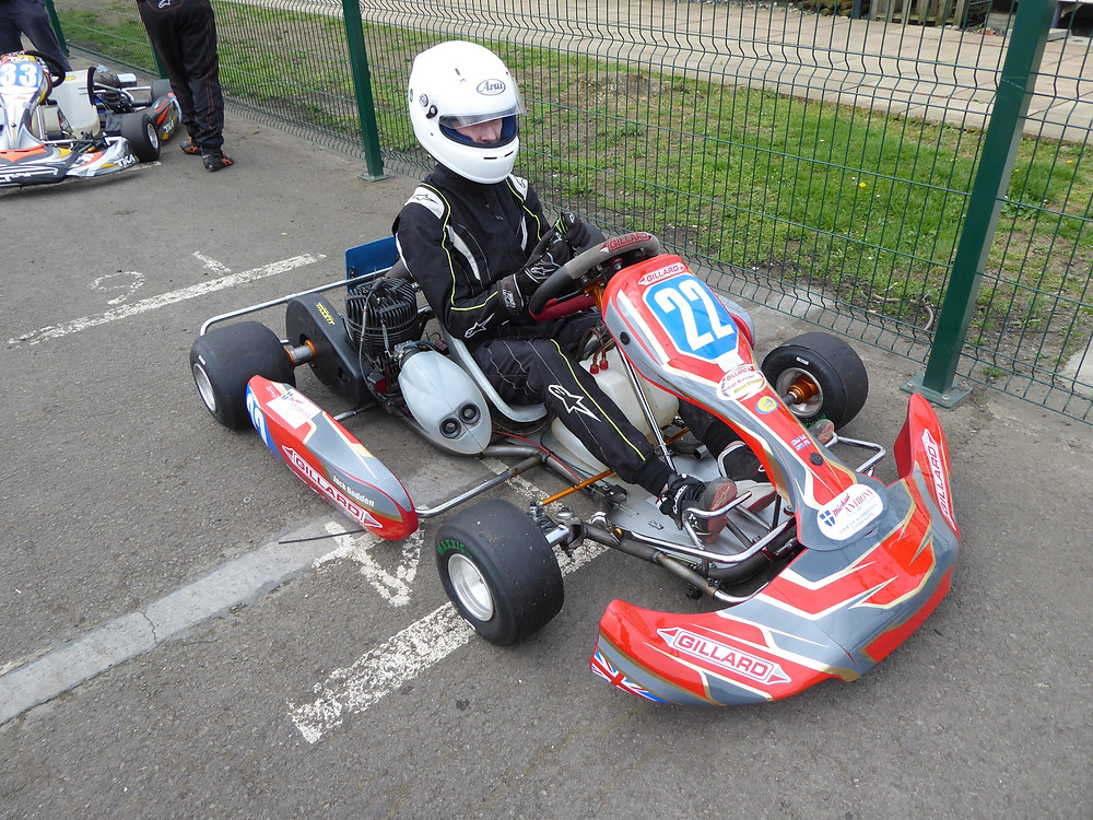 New Livery on the Fulbeck dummy grid