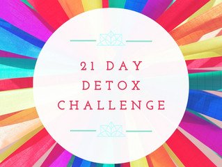 Why I'm doing a 21 Day Detox...