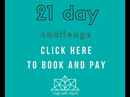 21 day Energy, Evolution and Experience programme