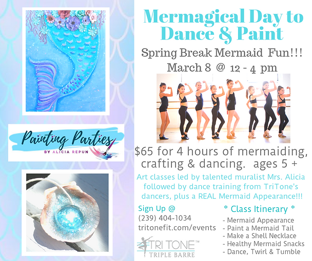 Spring Break Mermaid Fun!!! March 8 _ 12