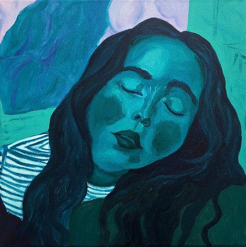 Original Painting 'Blue Gal'