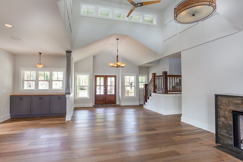 Empty House in need of Home Staging in Wilmington, NC