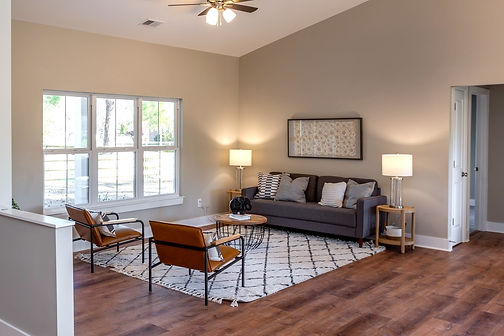 Modern Vacant Home Staging in Wilmington, NC