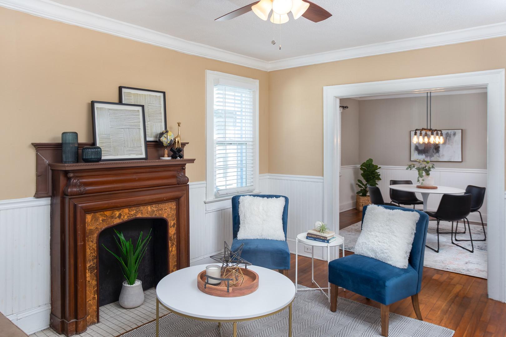 Modern Eclectic Home Staging - Wilmington, NC