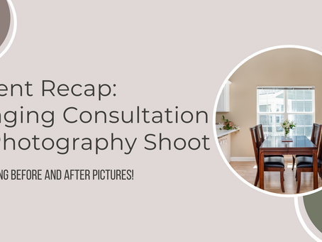 Client Recap: Staging Consultation + Photography Shoot in Wilmington