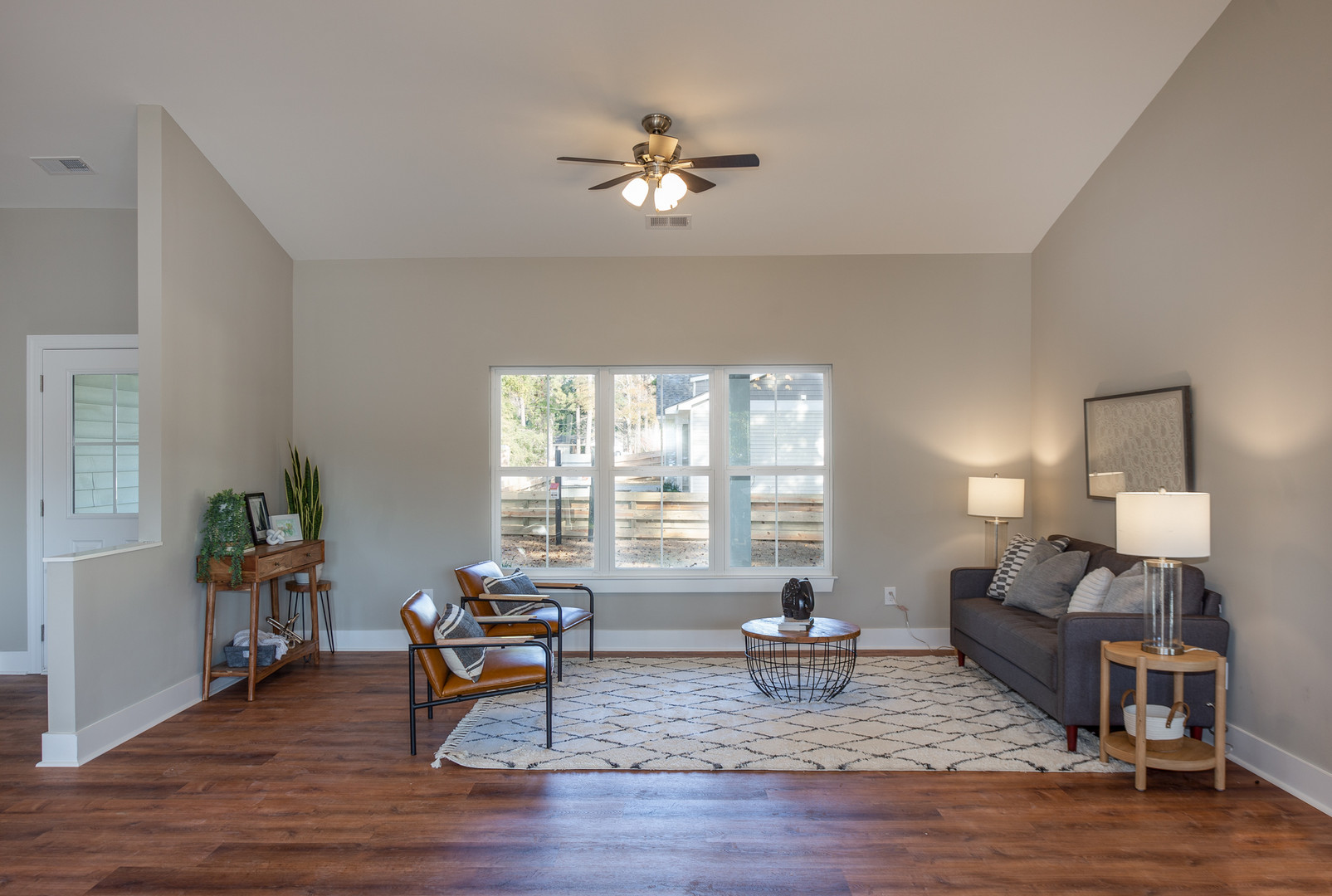 Modern Neutral Home Staging - Wilmington NC