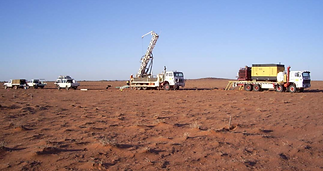 Exploration drilling commenced at Kalkar